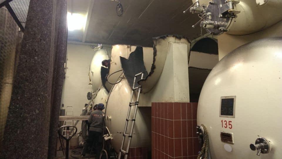 Tankentsorgung Weintanks